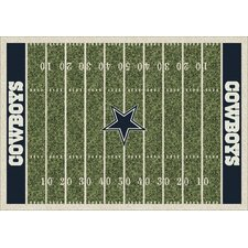 NFL Team Home Field Dallas Cowboys Novelty Rug