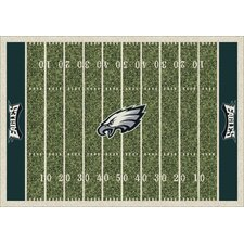 NFL Team Home Field Novelty Rug