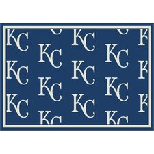 MLB Team Repeat Baseball Novelty Rug
