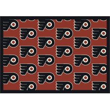 NHL Team Repeat Novelty Rug