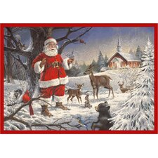 RJ McDonald Christmas Party Novelty Rug