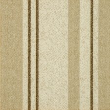 "<strong>Milliken</strong> Legato Fuse Stripe 19.7"" x 19.7"" Carpet Tile in Casual Crème"