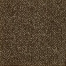 "Legato Fuse Texture 19.7"" x 19.7"" Carpet Tile in Java Brown"