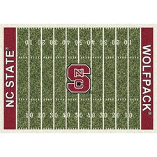 College Home Field NCAA North Carolina State Novelty Rug