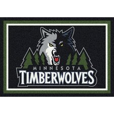 NBA Team Spirit Novelty Rug