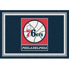 NBA Spirit Philadelphia 76ers Novelty Rug