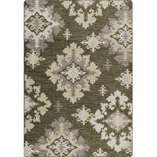 <strong>Milliken</strong> Mix and Mingle Loden Highland Star Rug