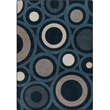 Mix and Mingle Indigo in Focus Rug