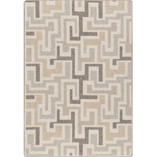 Mix and Mingle Neutral Junctions Rug