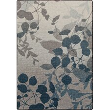 Mix and Mingle Indigo Nature's Silhouette Rug