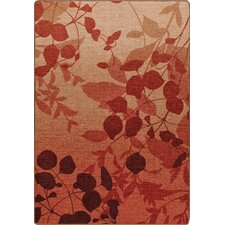 Mix and Mingle Sierra Red Nature's Silhouette Rug