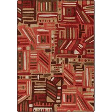 Mix and Mingle Red Oak Urban Order Rug