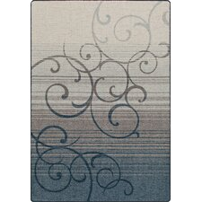 Mix and Mingle Bluestone Whispering Wind Rug