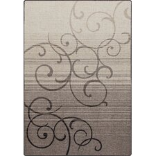 Mix and Mingle Pewter Whispering Wind Rug