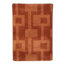 Modern Times Uptown Fall Orange Area Rug