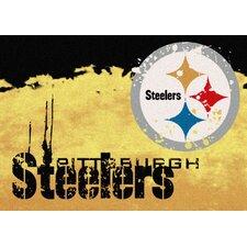 NFL Team Fade Pittsburgh Steelers Novelty Rug