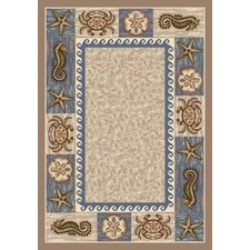 Signature Sea Life Sandstone Novelty Rug