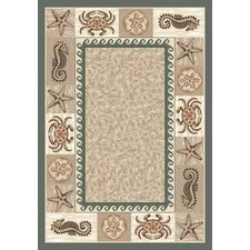 Signature Sea Life Light Aqua Rug