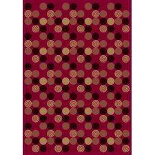 Innovation Da T Da Cherry Area Rug