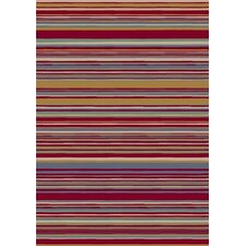 Innovation Lola Ruby Striped Area Rug