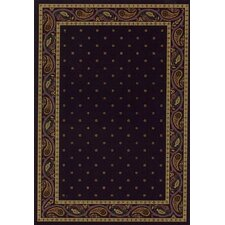 Innovation Eggplant Paisley Area Rug