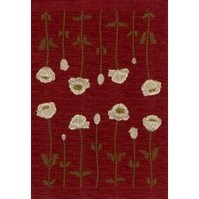 Innovation Poppy Garnet Rug