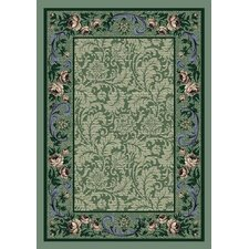 Innovation Rose Damask Peridot Rug