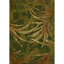 Pastiche Rain Forest Deep Olive Area Rug
