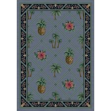 Signature Palm Bay Lapis Novelty Rug