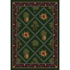 Signature Palm and Pineapple Novelty Rug