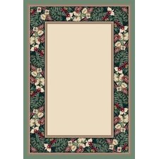 Innovation Opal Peridot Tropical Forest Area Rug
