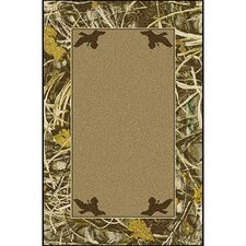 Realtree Max 4 Solid Center Area Rug