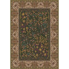 Pastiche Kashmiran Balsa Dried Herb Green Area Rug