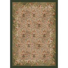 Pastiche Kashmiran Caramay Yew Tree Green Area Rug