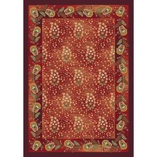 Pastiche Kashmiran Caramay Indian Berry Area Rug