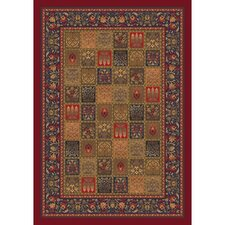 Pastiche Kashmiran Pristina Midnight Red Area Rug