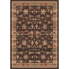 Pastiche Kashmiran Sharak Brunette Brown Area Rug