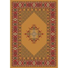 Pastiche Kashmiran Terkan Butterscotch Orange Area Rug