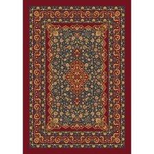 Pastiche Kashmiran Tiraz Tapestry Red Area Rug