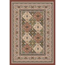 Pastiche Kashmiran Tournai Red Clay Rug