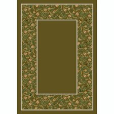 Design Center Latin Rose Tobacco Rug