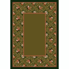 Design Center Bouquet Lace Tobacco Rug