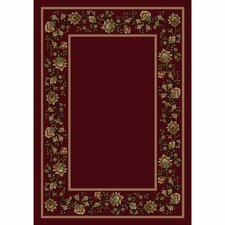 Design Center Khorrasan Cranberry Rug