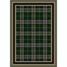Design Center Magee Plaid Emerald Rug