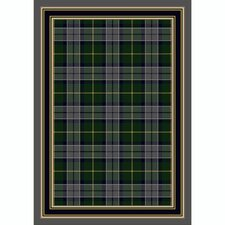 Design Center Magee Plaid Emerald Lapis Rug