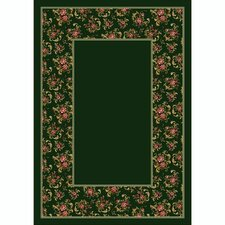 Design Center Cameo Rose Olive Rug