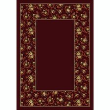 <strong>Milliken</strong> Design Center Cameo Rose Garnet Rug