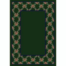 <strong>Milliken</strong> Design Center Rose Bower Emerald Rug