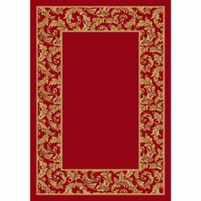 Design Center Corinthius Ruby Rug