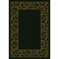 Design Center Dark Chocolate Corinthius Area Rug
